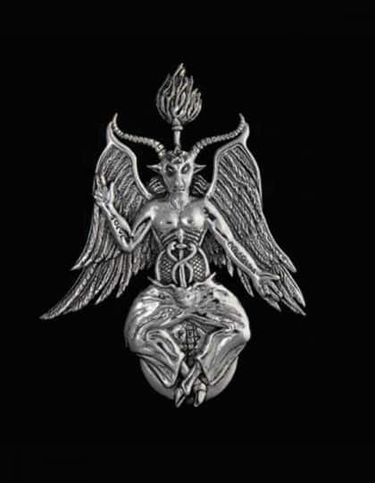 Baphomet-Pin-Brooch