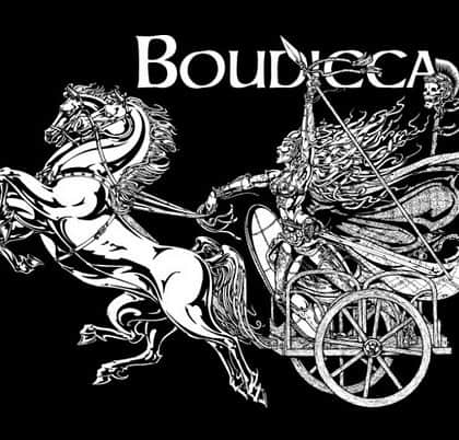 Warrior Queen Boudicca T-Shirt by maxine Miller ©celticjackalope.com